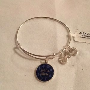 "Super cute Alex and Ani ""just a phase"" bracelet"